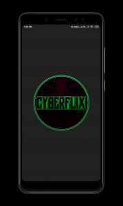 Splash Screen cyberflix